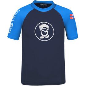 TROLLKIDS Kvalvika T-shirt Børn, blå
